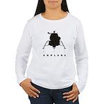 Lunar Module / Explore Women's Long Sleeve T-Shirt