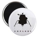 Lunar Module / Explore Magnet