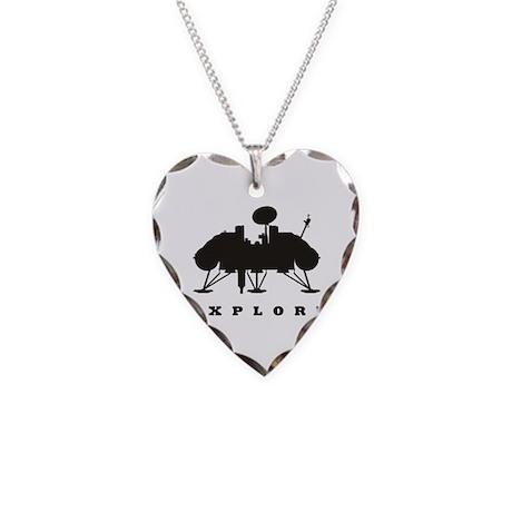 Viking / Explore Necklace Heart Charm