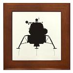 Lunar Module Framed Tile