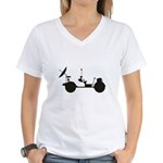 Lunar Rover Women's V-Neck T-Shirt