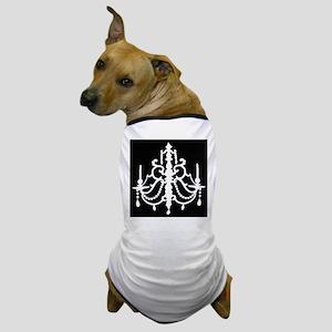 CHANDELIER SILHOUETTE Dog T-Shirt