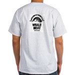 Ash Grey T-Shirt - WHALE MEAT