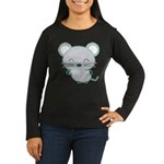 Smile Women's Long Sleeve Dark T-Shirt