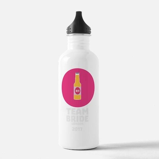 Team bride London 2017 Water Bottle