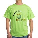 Cockatoo  Green T-Shirt