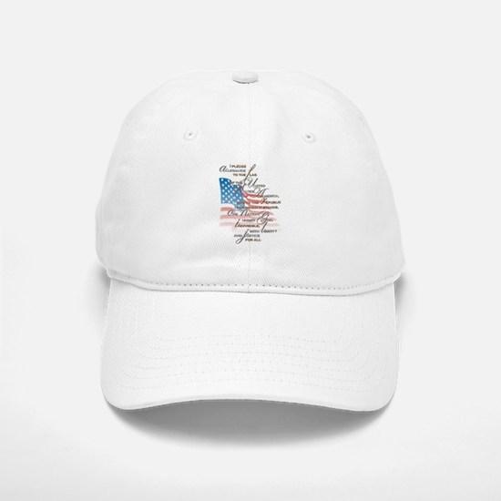 US Pledge - Baseball Baseball Cap