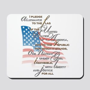 US Pledge - Mousepad