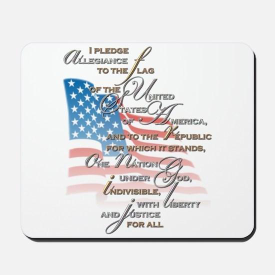 US Pledge - Mousepad