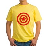 Captain Canada Yellow T-Shirt