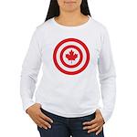 Captain Canada Women's Long Sleeve T-Shirt