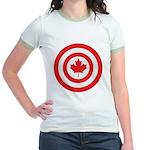 Captain Canada Jr. Ringer T-Shirt