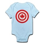 Captain Canada Infant Bodysuit