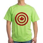 Captain Canada Green T-Shirt