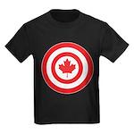 Captain Canada Kids Dark T-Shirt