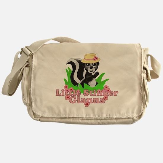 Little Stinker Gianna Messenger Bag