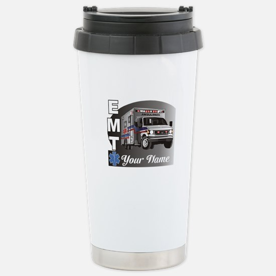 Custom Personalized EMT Stainless Steel Travel Mug