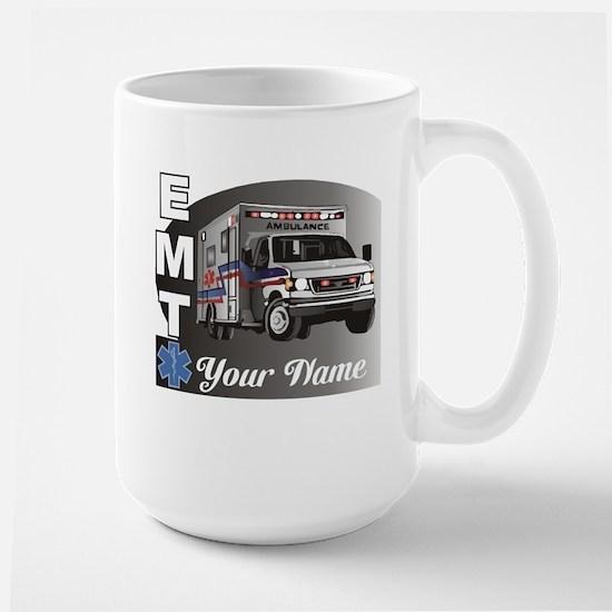 Custom Personalized EMT Large Mug