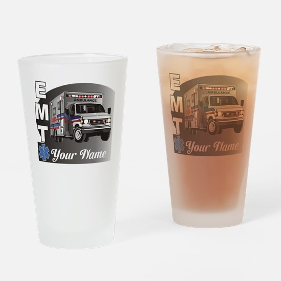 Custom Personalized EMT Drinking Glass