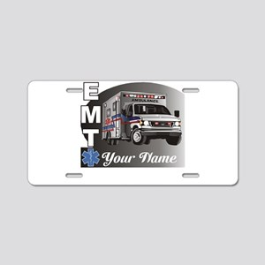 Custom Personalized EMT Aluminum License Plate