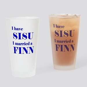 Sisu Spouse Drinking Glass