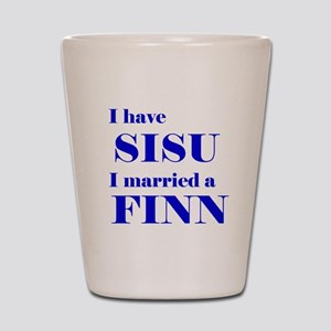 Sisu Spouse Shot Glass
