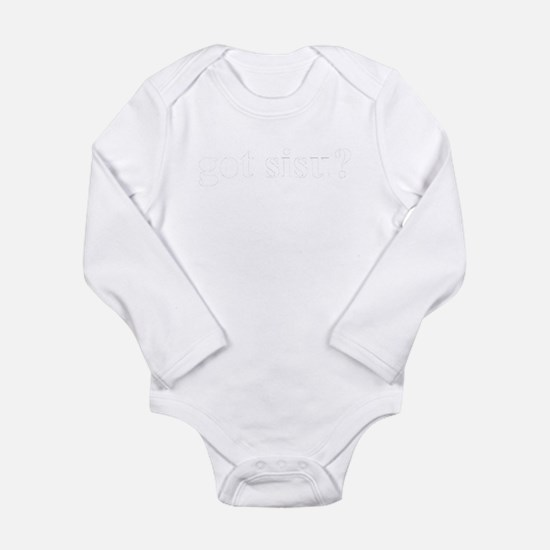 Funny Sisu Long Sleeve Infant Bodysuit