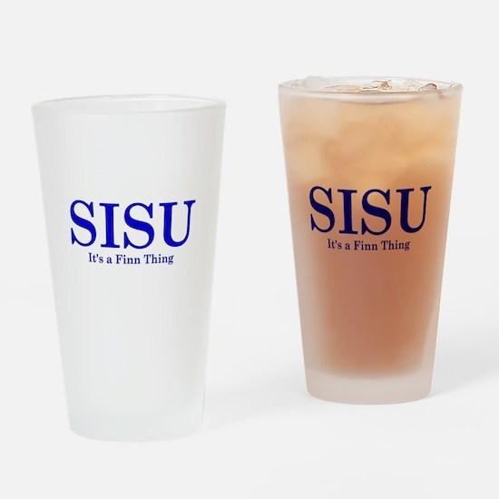 Sisu Drinking Glass