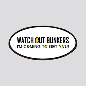 'Watch Out Bunkers' Patches