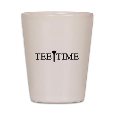 'Tee Time' Shot Glass