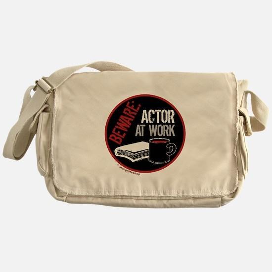 Actor at Work Messenger Bag