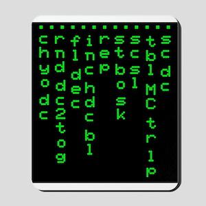 'Crochet Matrix' Mousepad