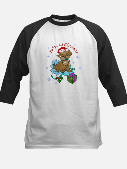 Baby's 1st Christmas Kids Baseball Jersey