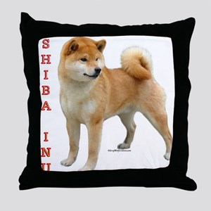 Shiba 2 Throw Pillow