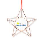 Acadian Copper Star Ornament