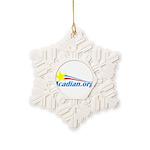 Acadian Snowflake Ornament
