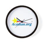 Acadian Wall Clock