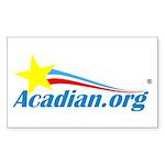 Acadian Sticker (rectangle 50 Pk)