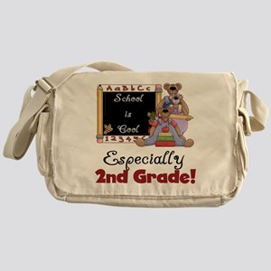 2nd Grade School is Cool Messenger Bag