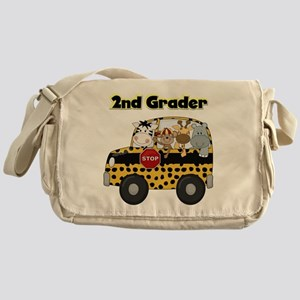 Zoo Animals 2nd Grade Messenger Bag