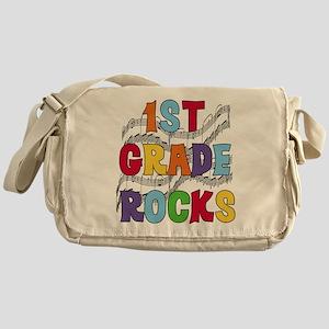 Bright Colors 1st Grade Messenger Bag