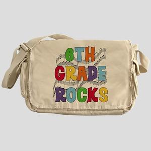 Bright Colors 6th Grade Messenger Bag