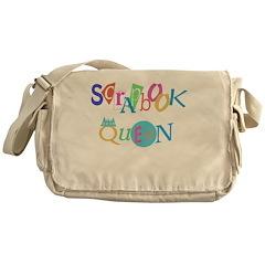 Scrapbook Queen Messenger Bag