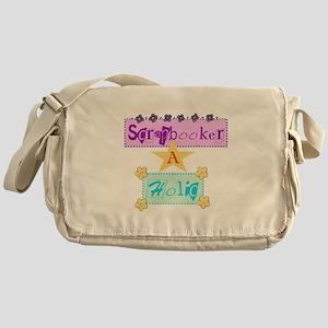 Scrapbooker-a-Holic Messenger Bag