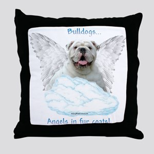 Bulldog 6 Throw Pillow