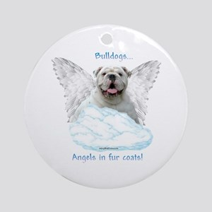 Bulldog 6 Ornament (Round)
