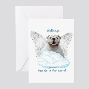 Bulldog 6 Greeting Cards (Pk of 10)