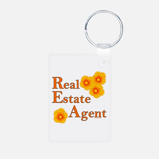 Real Estate Agent Keychains