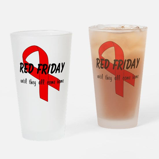 Red Friday ver4 Drinking Glass