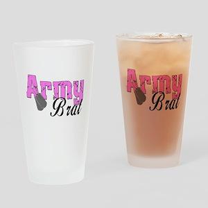 Army Brat Drinking Glass